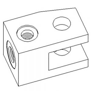 103924A1 Clevis, Cylinder End