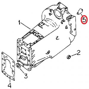 104402C1U Cover, Engine Timing Opening