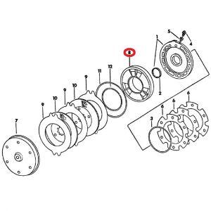 104655C1U Brake Piston