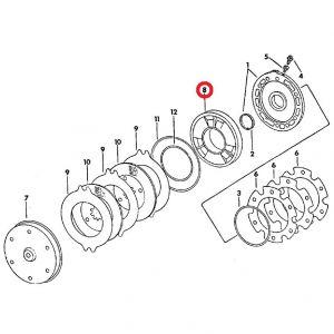 104655C1 Brake Piston