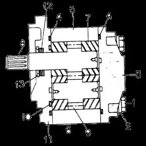 1059701C92U Hyd. Pump, 284