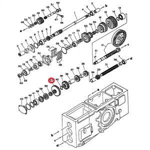 1061195C1U Gear, 39T