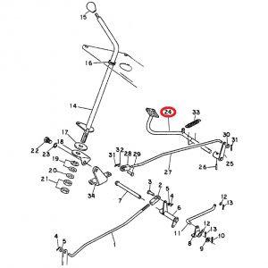 1061726C3U Pedal, Accelerator 284