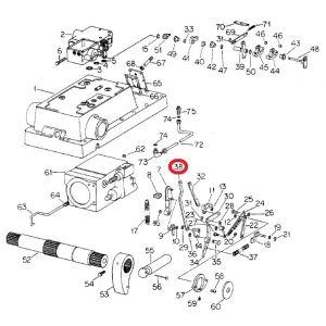 108538C1U Support, Inner Sensing Link