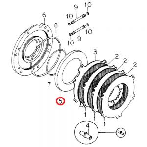 120490C1 Brake Piston, 5088