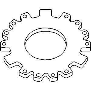 120769C2 Backing, Clutch Plate