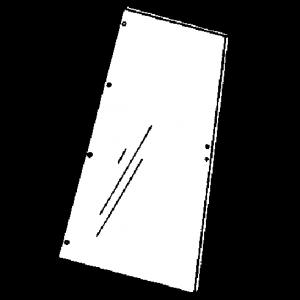 1250436C2 Glass, Side Window 86/88 Ser