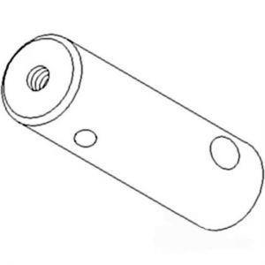 1259512C2 Pin, Rear Axle Pivot
