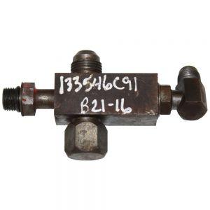 133546C91U Valve, Brake Check