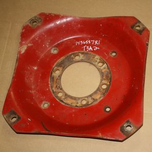 1436557R1U Rear Center Disc, 284 Red