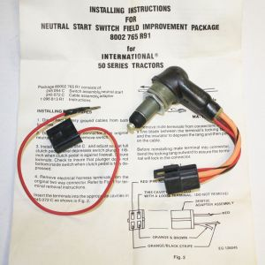 245054C2 Neutral Start Switch