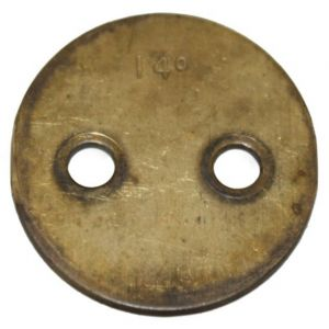 251290R1U Throttle Plate, Carburetor