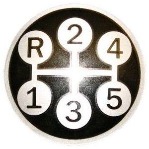 2752898R1 Gearshift Pattern Insert