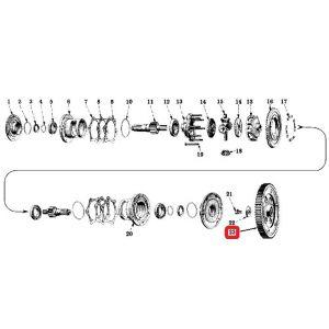 357463R11 Bull Gear, H/SH