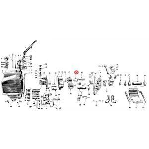 357883R1 Bushing, Hyd Pump Driven Gear