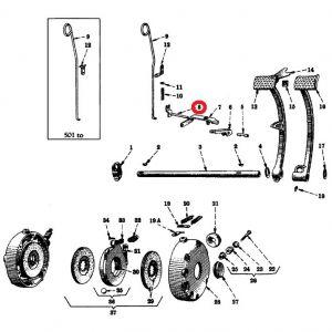 362693R21U Pin, Brake Pedal Lever