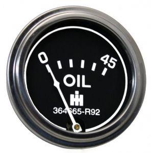 364663R92 Oil Pressure Gauge 0-45
