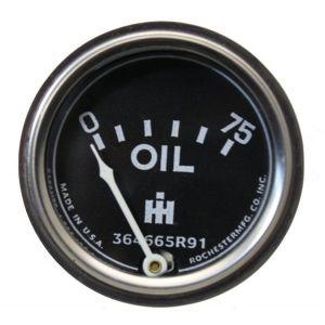 364665R91 Oil Pressure Gauge (0-75)