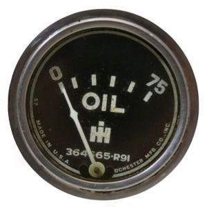 364665R91U Oil Pressure Gauge (0-75)