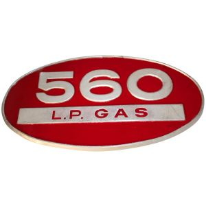 371286R1U Emblem, 560 L.P. GAS