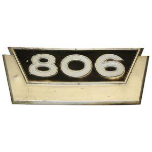 381557R1U Emblem, 806