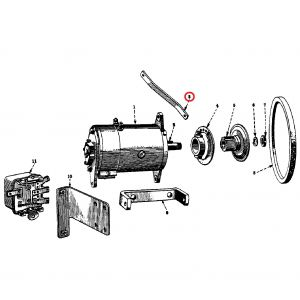 48877DU Generator Bracket