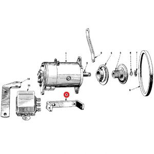 50384DU Generator Bracket