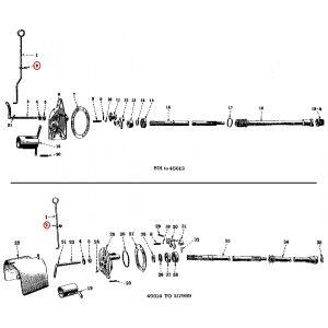 51449DU Rod Guide, H/M PTO
