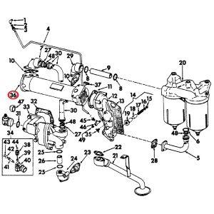 606896C92U Oil Cooler, 1206