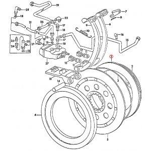 67333C2U Piston, Brake