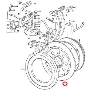 67402C2-BC Disc & Hub, Brake