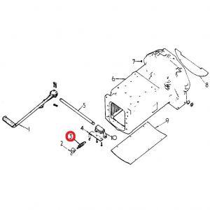 703943R93 Spring, Clutch Pedal Return