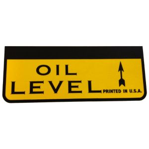 8000227 Decal, Oil Level