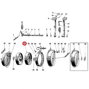 8822DBXU Brake Drum, H