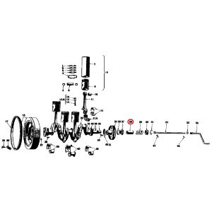 9138D Starting Crank Ratchet, M