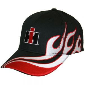 BC103 IH AG Hat, Black Flames