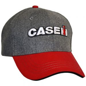 BC114 CASE IH Hat, Two Tone Melton