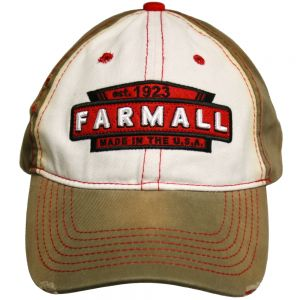 BC121 Farmall Hat, Two Tone Distressed