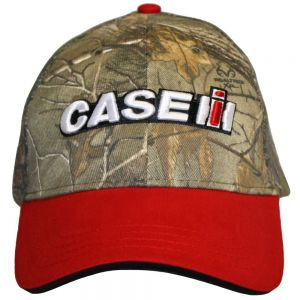BC123 Case IH Hat, Two Tone Realtree Camo