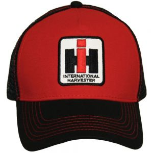 BC125 IH Hat, Red/Black