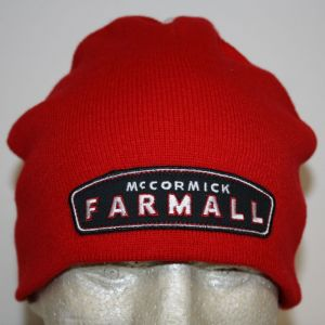 BC139 Farmall Basic Red Knit Hat