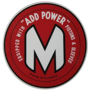 BC146 M Decal, M&W Add Power