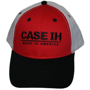 BC162 CASE IH Hat, Three Tone Made In America