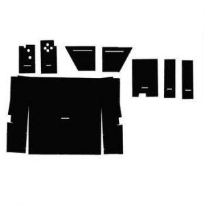 C86 Cab Kit, Black w/o Headlinger