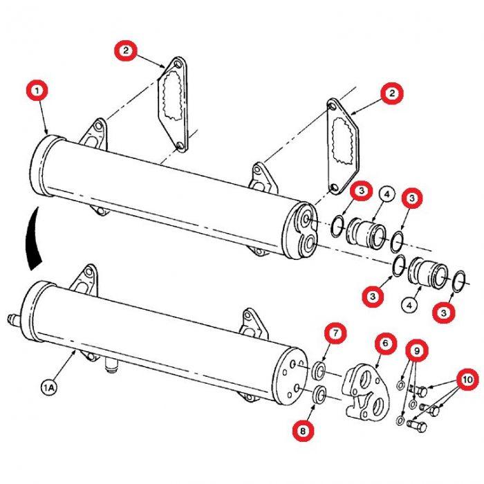 1810171C2 Engine Oil Cooler