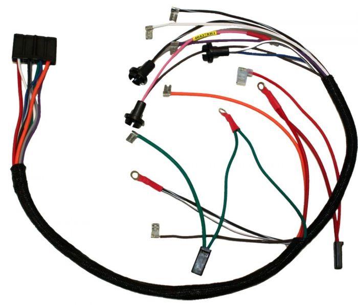 404378r1 wiring harness, 444 instrument