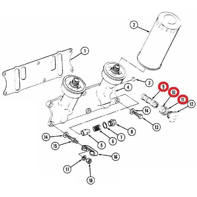 680237c93 Valve Kit Oil Filter