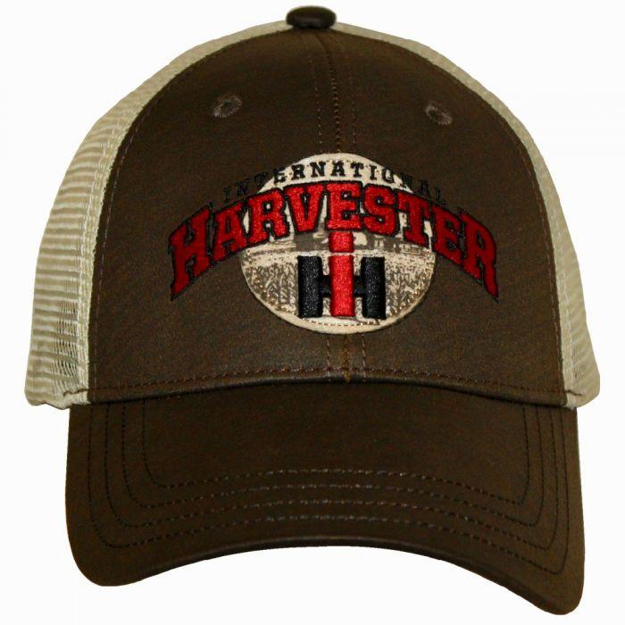 NEW! INTERNATIONAL HARVESTER IH ALL RED EMBROIDERED TRUCKER LOGO HAT CAP NICE