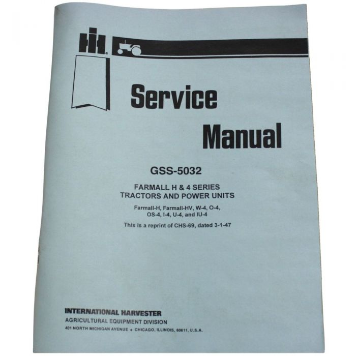 GSS5032 Service Manual - H/HV/W4/O4/OS4/I4/U4/IU4